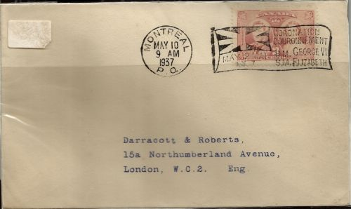1937 FDC